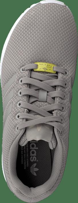 Kjøp Adidas Originals Zx Flux Aluminum/running White Sko Online