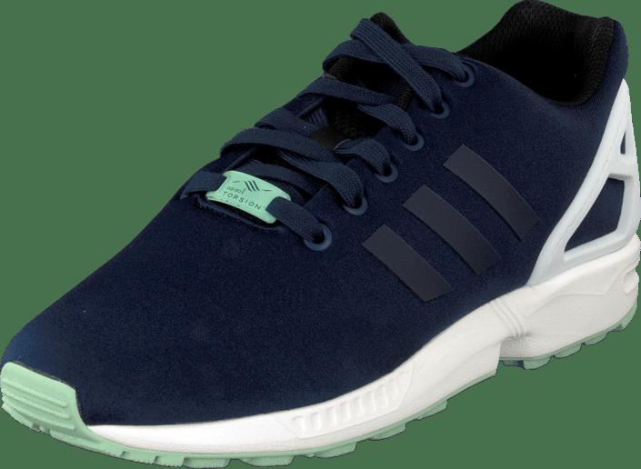 d8af962ea Buy adidas Originals Zx Flux Collegiate Navy White blue Shoes Online ...