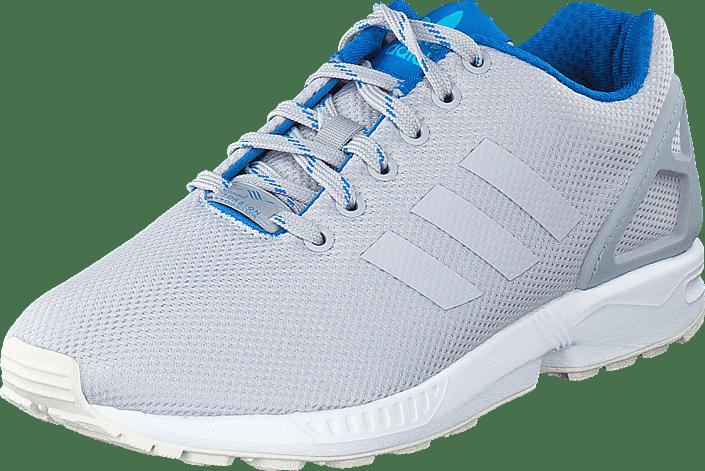 adidas Originals - Zx Flux Lgh Solid Grey/Shock Blue