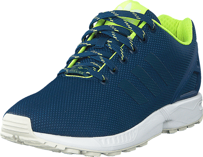 huge selection of df807 0b7b9 Zx Flux Shadow Blue/Solar Yellow/Halo