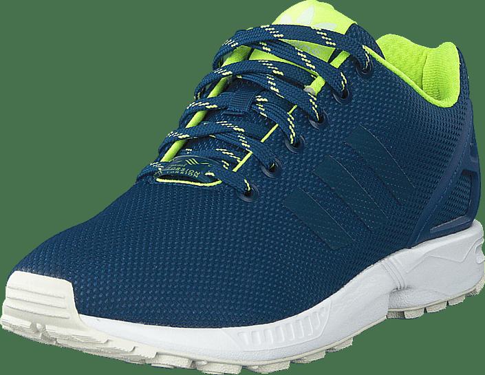 Køb adidas Originals Zx Flux Shadow BlueSolar YellowHalo