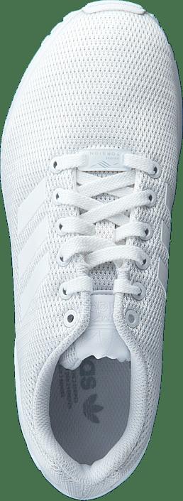 Kjøp Adidas Originals Zx Fluxwr White/clear Grey Sko Online