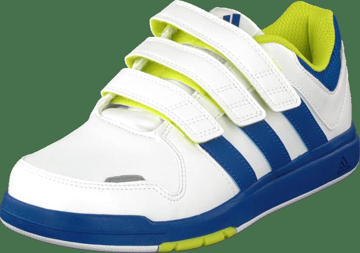 Buy adidas Sport Performance Lk Trainer 6 Cf K White Royal Yellow ... 0ab3983550