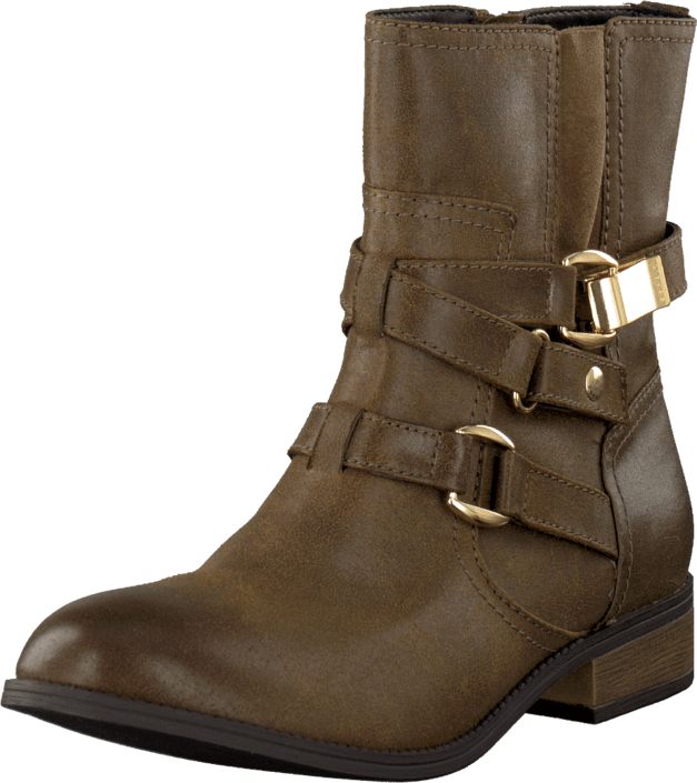 Esprit - Diamond Bootie Raw Umber Green