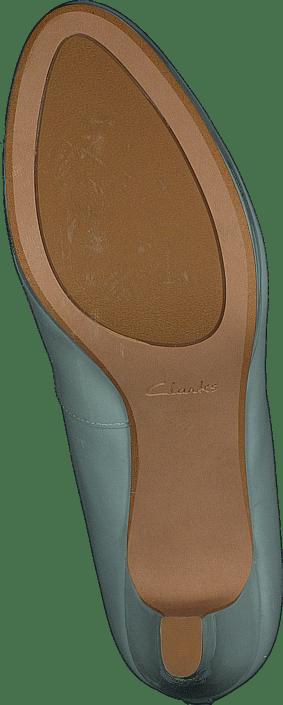 Clarks - Crisp Kendra Aqua Patent