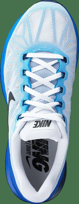 eadba7097dfd1 Buy Nike Nike Lunarglide 6 White Black-Lyon Blue-Pht Blue blue Shoes ...
