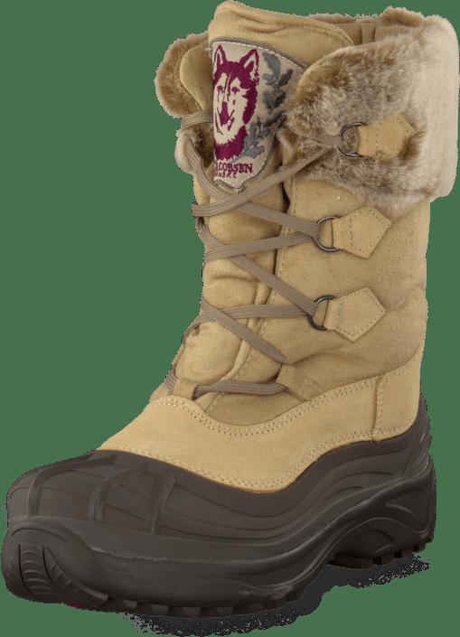 Ilse Jacobsen - Textile Moon boot Creme