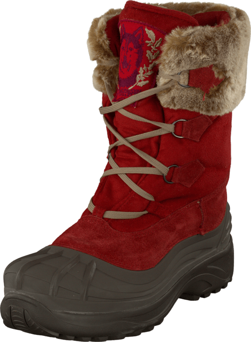 Ilse Jacobsen - Textile Moon boot Jester Red