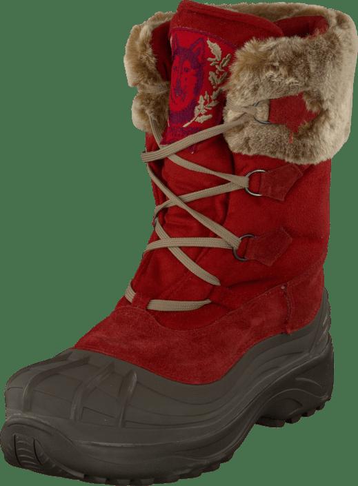 Köp Ilse Jacobsen Textile Moon boot Jester Red Skor Online