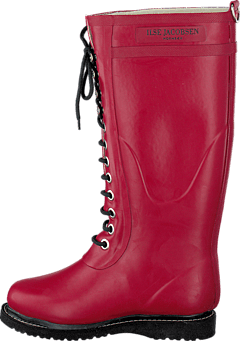 Long Rubber Boot Wine
