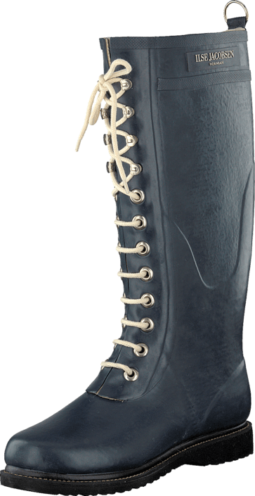 Long Rubber Boot Indigo