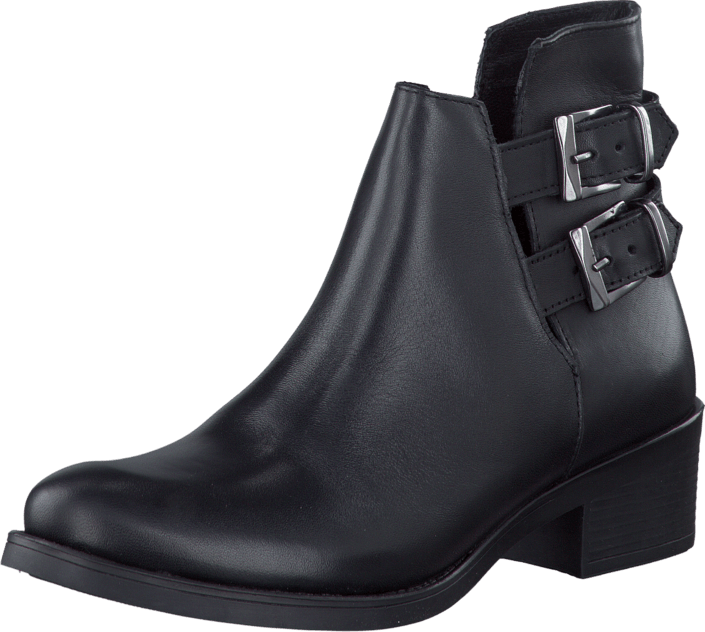 Bianco - Boot With Open Sides Black