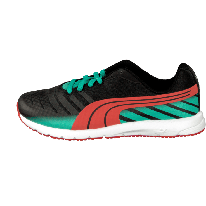 Buy Puma Faas 300 V3 Jr Black Greana red Shoes Online  7811f8da5