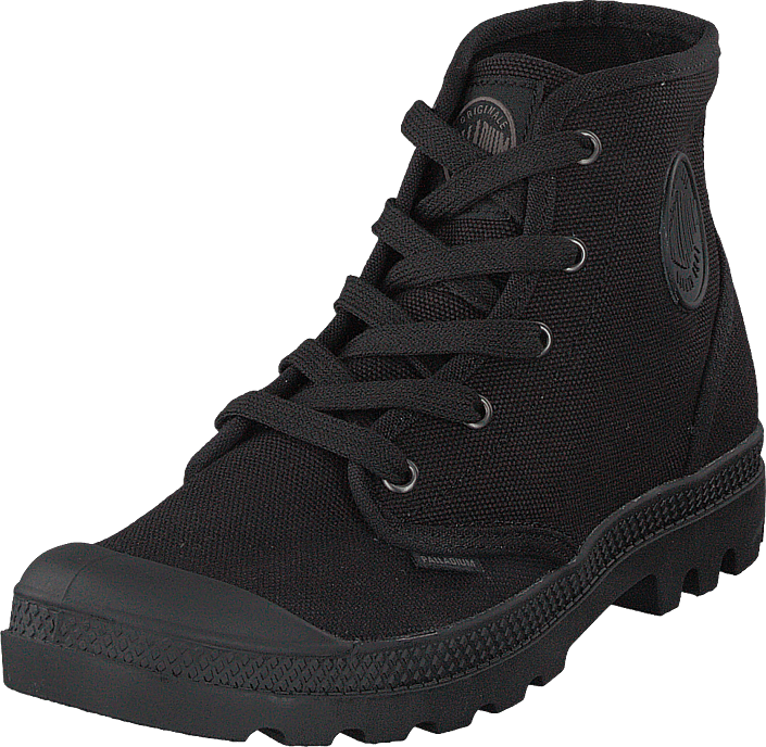952542d53ca Buy Palladium Pampa Hi Ladies Black black Shoes Online | FOOTWAY.co.uk