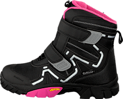 430-0993 Boots Waterproof Black/Fuchsia