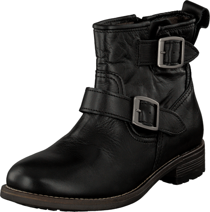 Duffy in Leather - 53-30131 Black