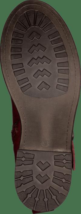30131 Online Røde Leather In Duffy 53 Kjøp Sko Red Boots Rac8IOYWS