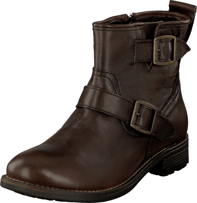 Leather Online Sko Boots Duffy Brown Brune In 53 Kjøp 30131 Ewq81pxA