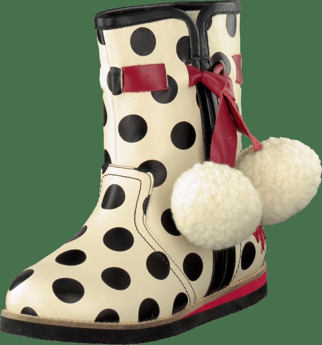 Lola Ramona - 412814-18 Cecilia White/Black Dots