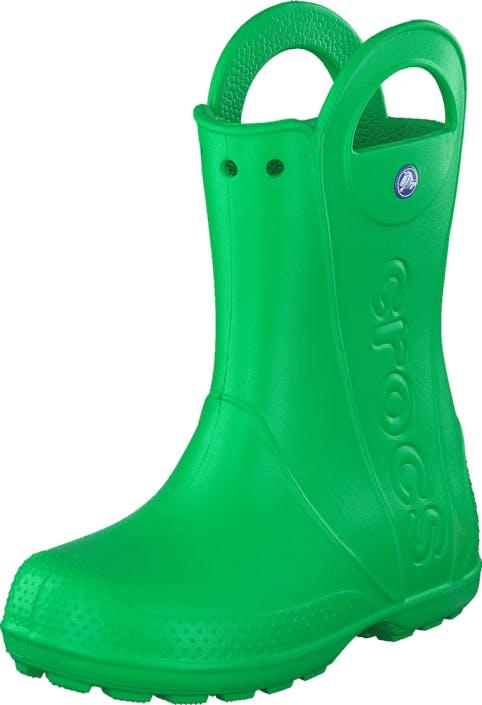 Crocs Handle It Rain Boot Kids Grass Green, Skor, Stövlar & Stövletter, Gummistövlar, Grön, Barn, 22