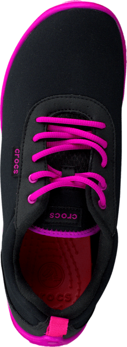 Crocs - Duet Busy Day Lace-up Black/Candy Pink