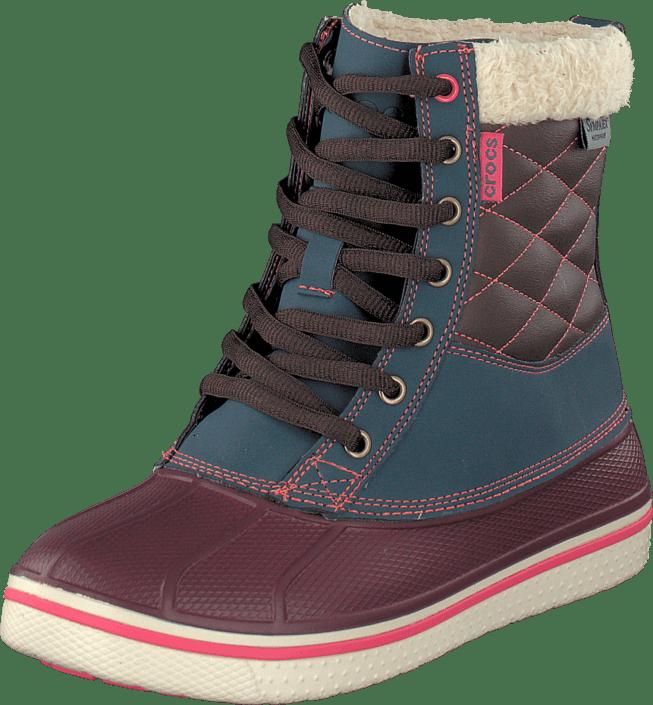 AllCast Waterproof Duck Boot W Nightfall/Crl