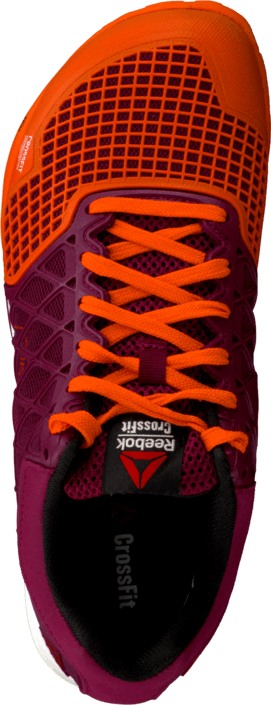 fb6142b5796 Buy Reebok R Crossfit Nano 4.0 Flu Orange Berry White Black black ...