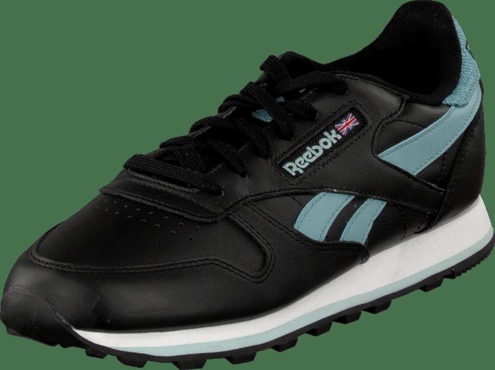blue Pop Sportsko blue Reebok Sneakers white Cl Og Blå Online Sc Sko Classic Leather Black Kjøp FISRwq8xF
