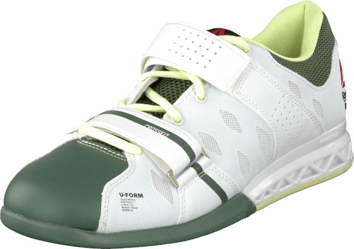 R Crossfit Lifter Plus2.0 White/Silvery Green