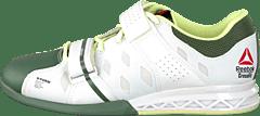 R Crossfit Lifter Plus2.0 WhiteBlackSilvery Green