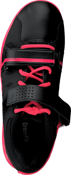 Reebok - R Crossfit Lifter Plus2.0 Black/Neon Cherry/White