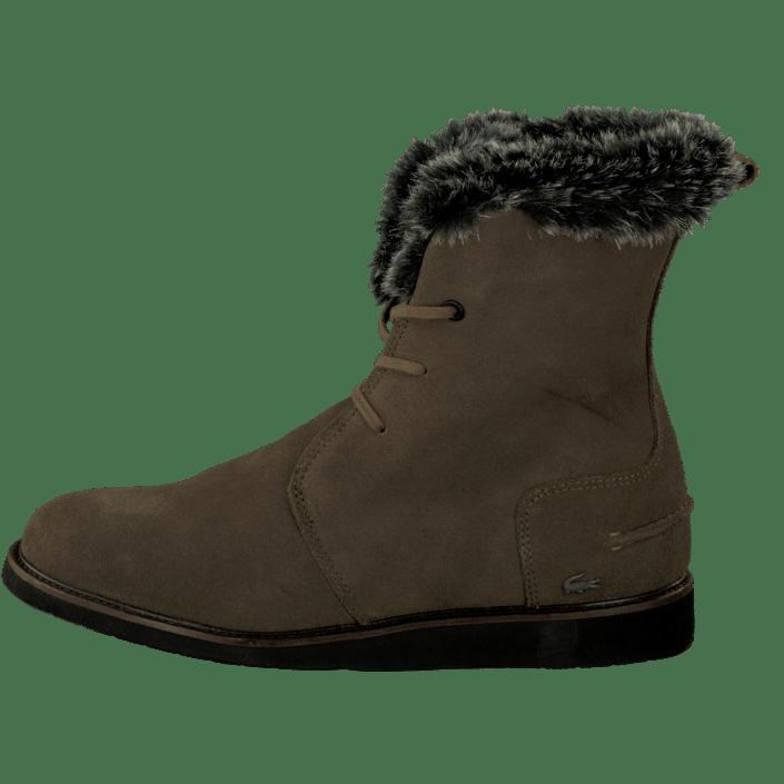 6c44e5210afe Buy Lacoste Baylen 2 Dk Khk Sde brown Shoes Online