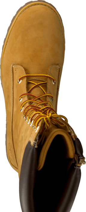 Girls Classic Tall Lace Up Wheat