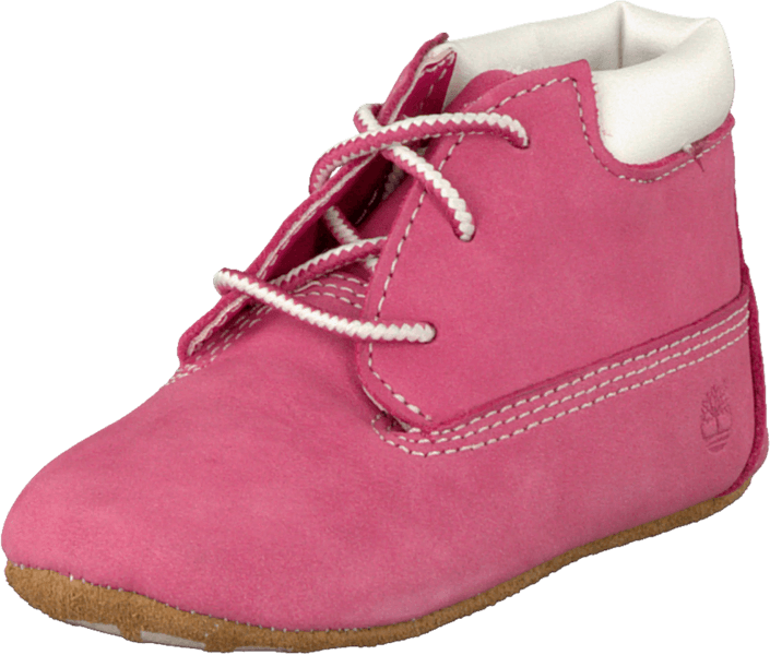 Timberland - Crib Bootie with Hat Fucshia Rose