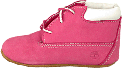 Crib Bootie with Hat Fucshia Rose