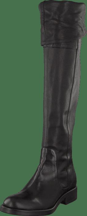 A Pair - Overknee Black