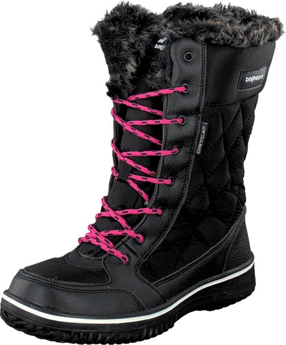 Bagheera Frost Black, Skor, Stövlar & Stövletter, Varmfodrade höga stövlar, Svart, Unisex, 34