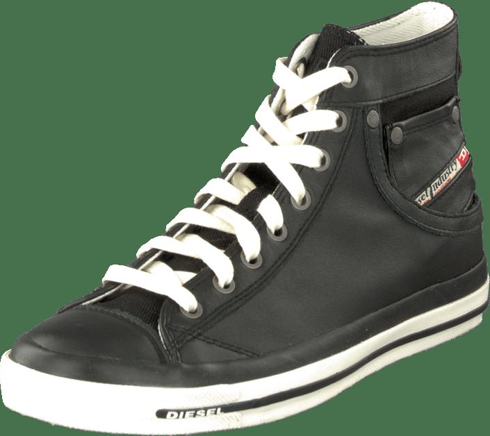 63dbc0c1e4 Buy Diesel Magnete Exposure Iv W Mid T8013 Black black Shoes Online ...