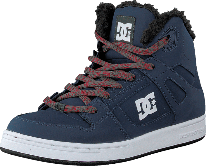 Navy Red All Sizes Dc Pure Boys Footwear Shoe