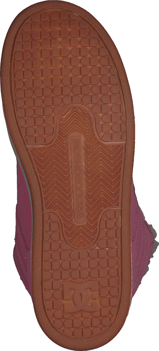 DC Shoes - Kids Rebound Wnt Shoe Rose Shadow