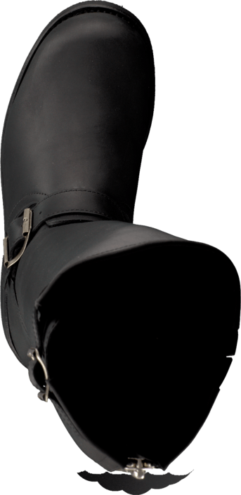 Kjøp Primeboots Engineer High-302 Old Crazy Black + Nickel Sko Online