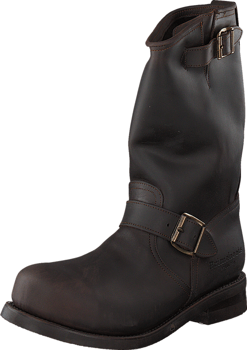 PrimeBoots - Engineer Mid-1 Old crazy testa + brass