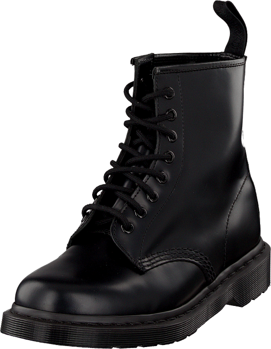 Dr Martens - 1460 8-eye boot Mono Smooth Black