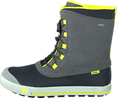 Merrell - Snow Bank Waterproof Kids Grey Lime 8d58b86eeb