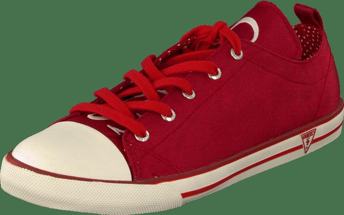 Røde Guess Sneakers   Sko til Dame   Sneakers og sko på nett