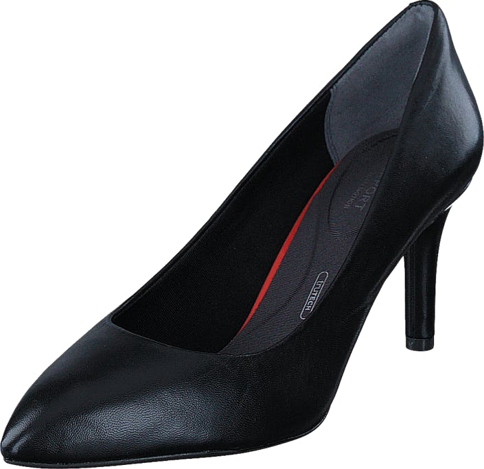 Rockport Total Motion 75mm Pointy Toe Black, Sko, Højhælede, Pumps, Sort, Dame, 38