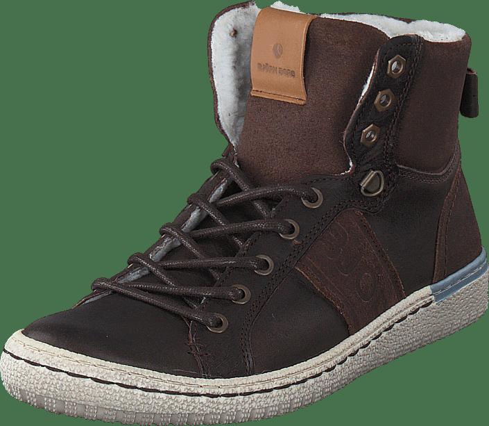 Sneakers Brown Og Sportsko Online 48018 Björn Dk 2200 Sko Borg Alec Fur Mid Brune Køb 04 01P7w