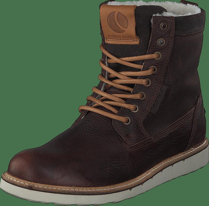 Osta Björn Borg Milan High Fur Brown Ruskeat Kengät Online  bb3f88193b