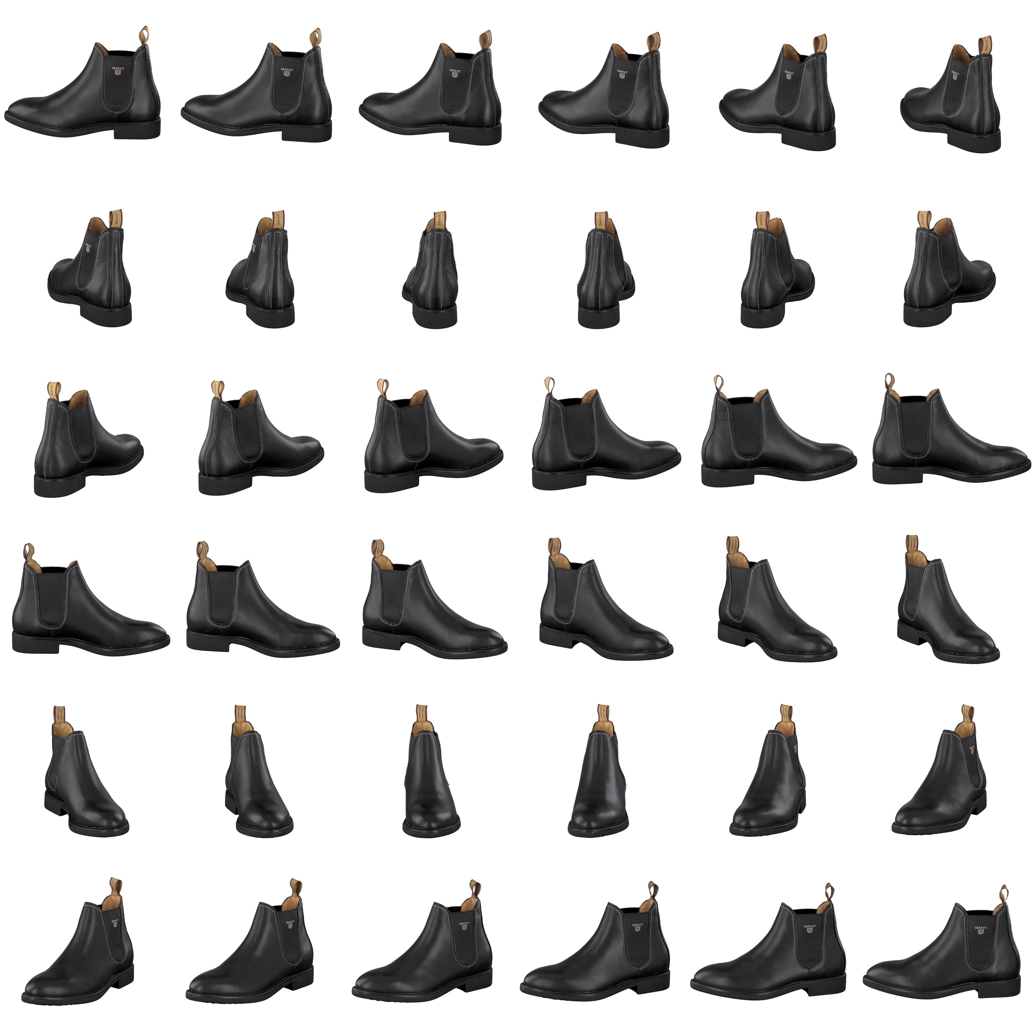 Køb Gant Lydia Black Leather Sko Online | FOOTWAY.dk