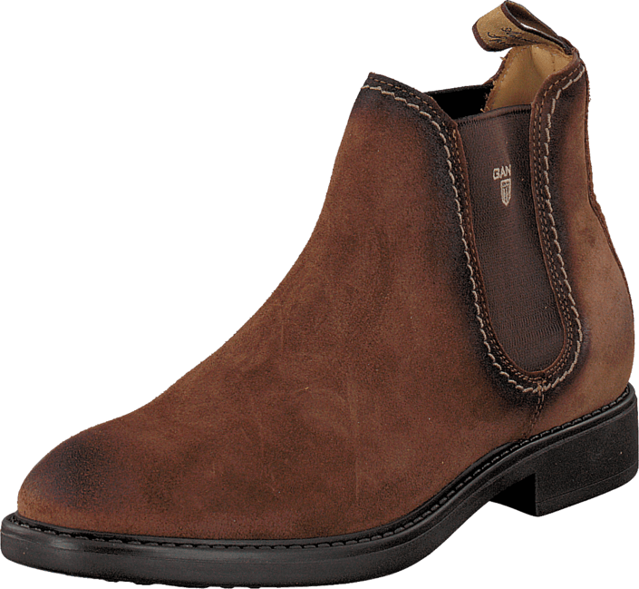 Lydia Tobacco Brown Suede